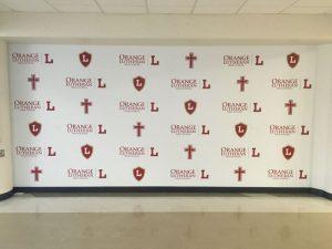 Sarasota Church Signs custom wall vinyl step repeat mural 300x225