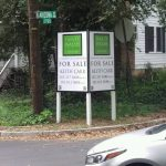 Sarasota Real Estate Signs post panel outdoor real estate 150x150